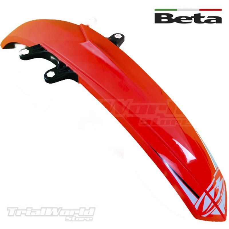 Guardabarros delantero Beta EVO color rojo
