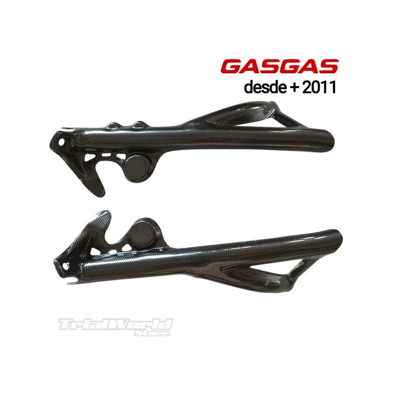 Chassis protectors GASGAS TXT Trial