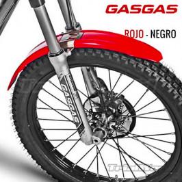 Guardabarros delantero GASGAS TXT Trial rojo
