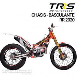 Decals kit frame & swingarm TRRS One Raga Racing RR (All)