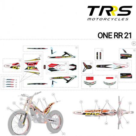 Kit Adhesivos TRRS Raga Racing RR depósito 2021