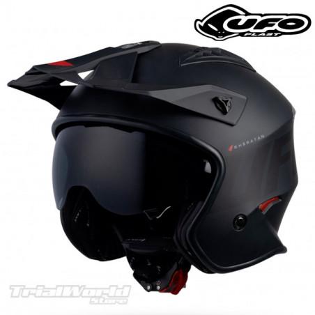 Helmet UFO Sheratan black Trial