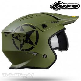 Helmet UFO Sheratan green Trial