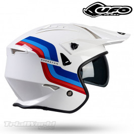 Helmet UFO Sheratan white Trial