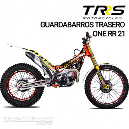 Adhesivo guardabarros trasero TRRS Raga Racing RR 2021