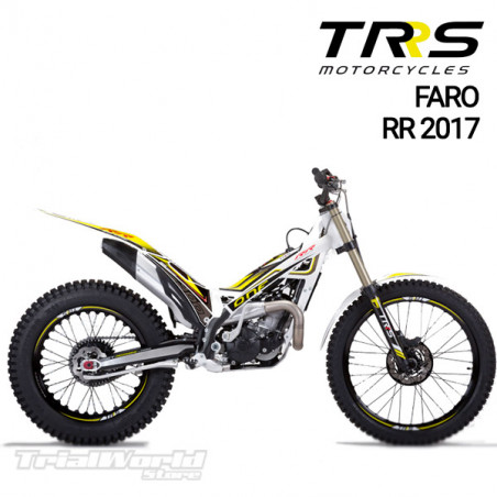 Adhesivo faro delantero TRRS Raga Racing RR 2017