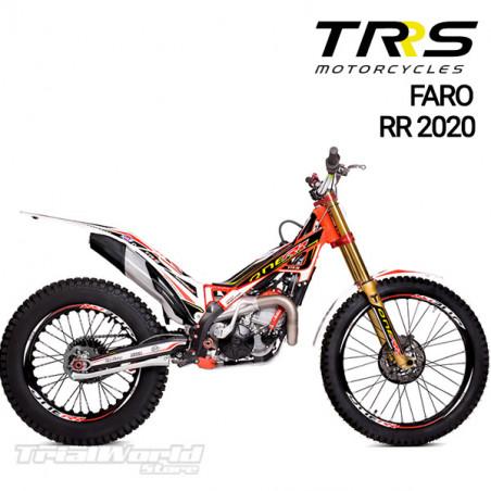 Adhesivo faro delantero TRRS Raga Racing RR 2020