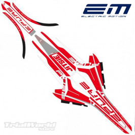 Kit decals Electric Motion Epure Stealth red