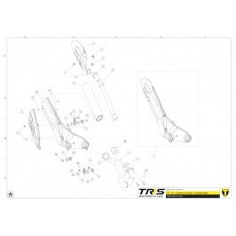 TRRS buhsing exhaust support