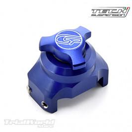 Regulador rápido de horquilla Tech azul