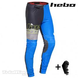 Pantalón Trial Hebo PRO 22 azul