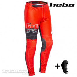 Pant trial Hebo PRO 22 red