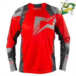 Jersey Mots STEP5 Junior Trial red