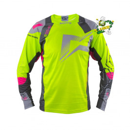 Jersey Mots STEP5 Junior Trial yellow