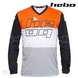 Camiseta Trial Hebo PRO 22 naranja