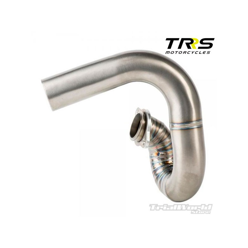 Colector escape de titanio TRS One Trial