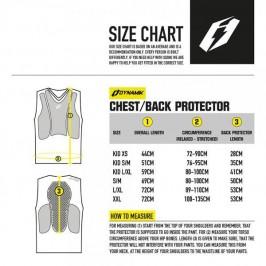 Protección espalda Jitsie Chestback Dynamic Trial
