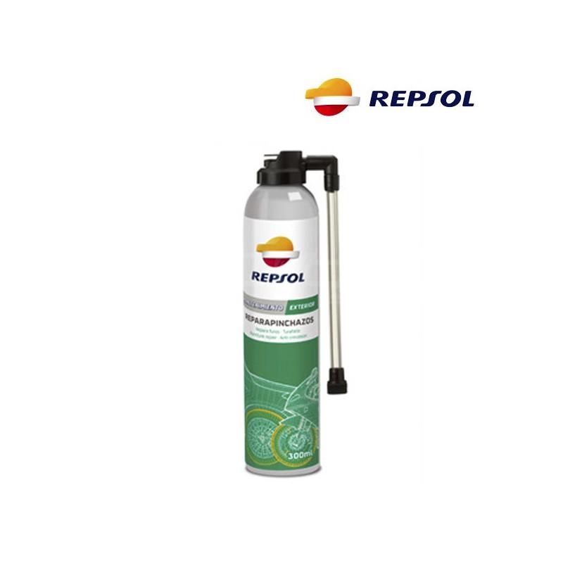 Repsol puncture repair spray for motorbike tyres