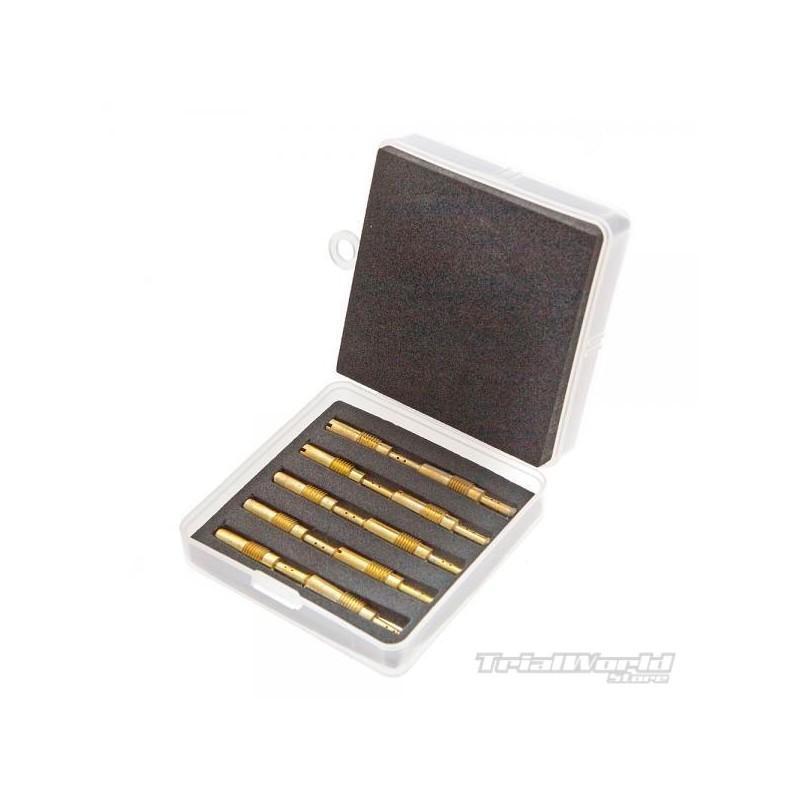Kit of 10 Keihin carburettor underdrive gums