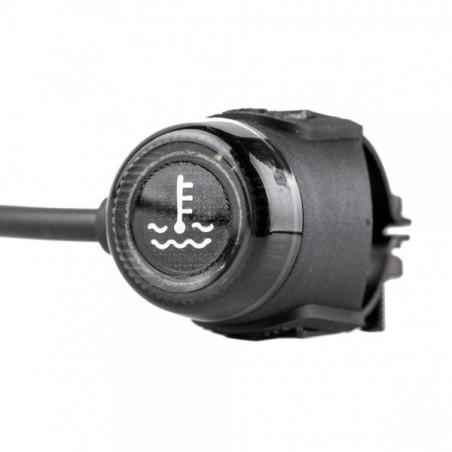 Sensor de temperatura con luz de alarma