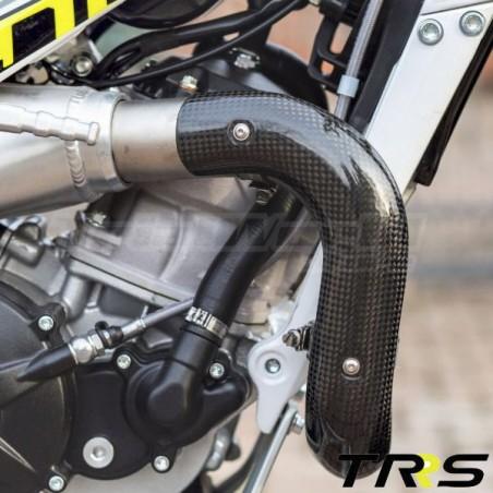 Protector de escape largo TRS One y Raga Racing 2016 a 2018