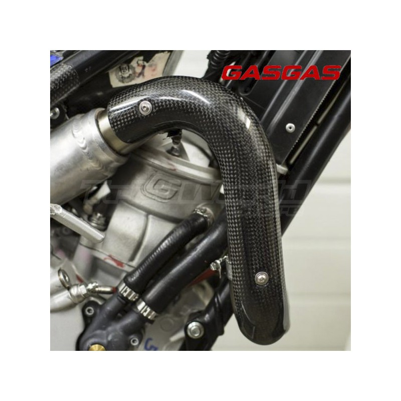 Exhaust carbon protector Gas Gas Gas TXT 2002 to 2021