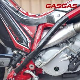Protectores de chasis carbono Gas Gas 2011 al 2018