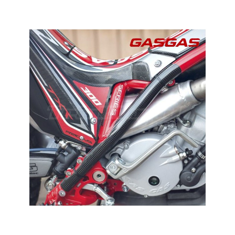 Carbon frame protectors GasGas TXT 2011 to 2021
