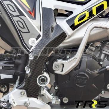 Protectores de chasis carbono TRS One y RR 2016 a 2018