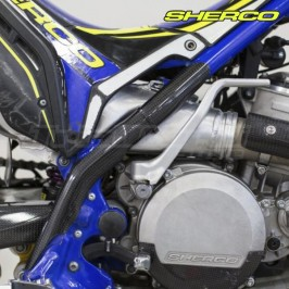Carbon frame protectors Sherco ST Trial 2016 to 2021