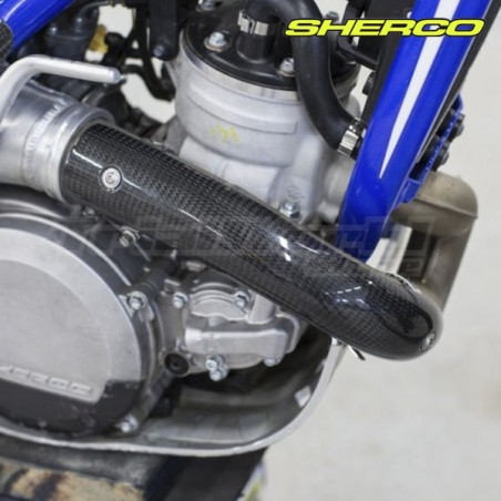Exhaust protector carbon Sherco ST 2016 to 2021