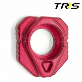 Rear wheel axle spacers for TRS