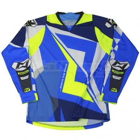 Camiseta Trial MOTS Rider3 azul