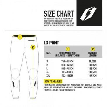 guia de tallas pantalon jitsie l3