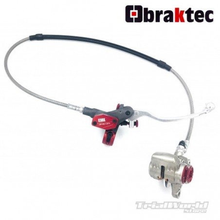 Braktec CNC competition front brake assembly