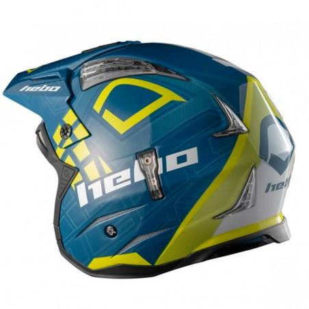 Casco Hebo Zone 4 Patrick Blue Yellow