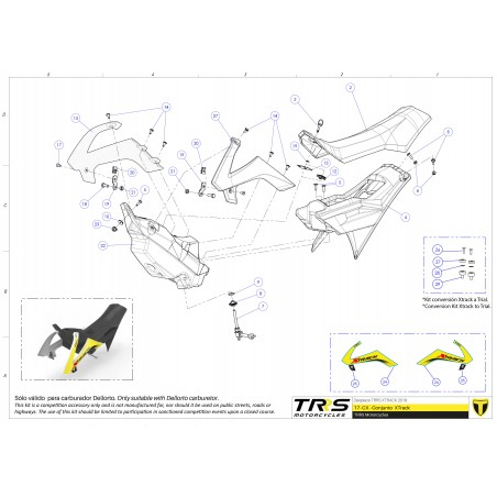 Excursion kit TRRS XTRACK for all TRRS