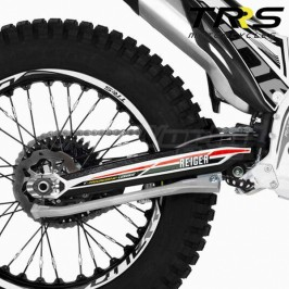 Kit de pegatinas de basculante TRRS Raga Racing 2019