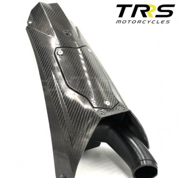 Caja del filtro de aire fibra de carbono TRRS Gold