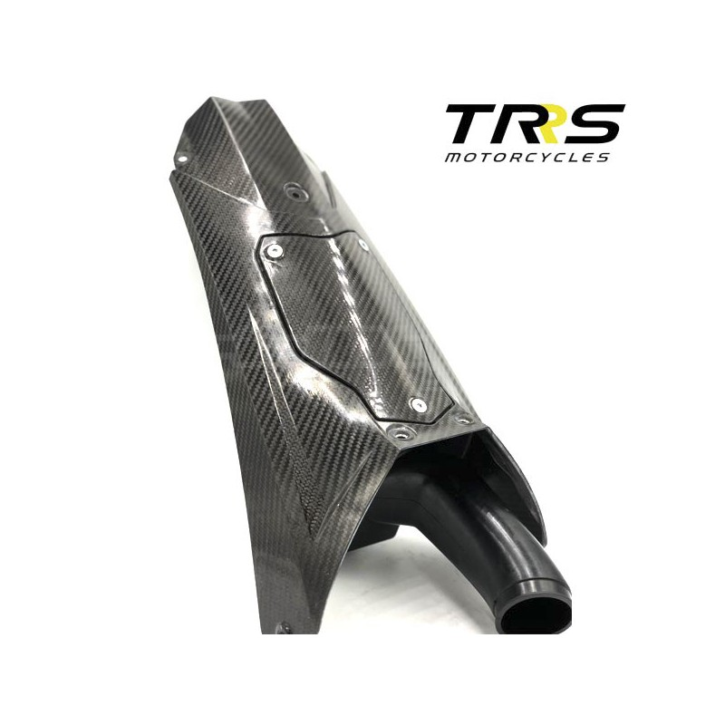TRRS carbon fibre air filter housing