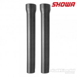 Trial Showa 39mm carbon fork protectors