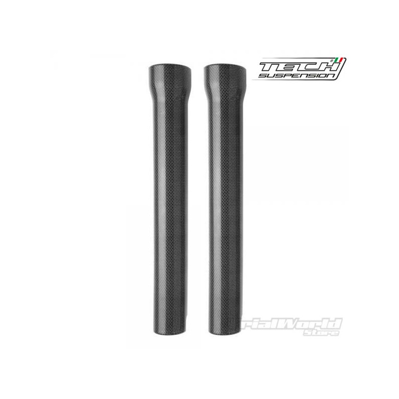 Trial Tech 39mm carbon fork protectors
