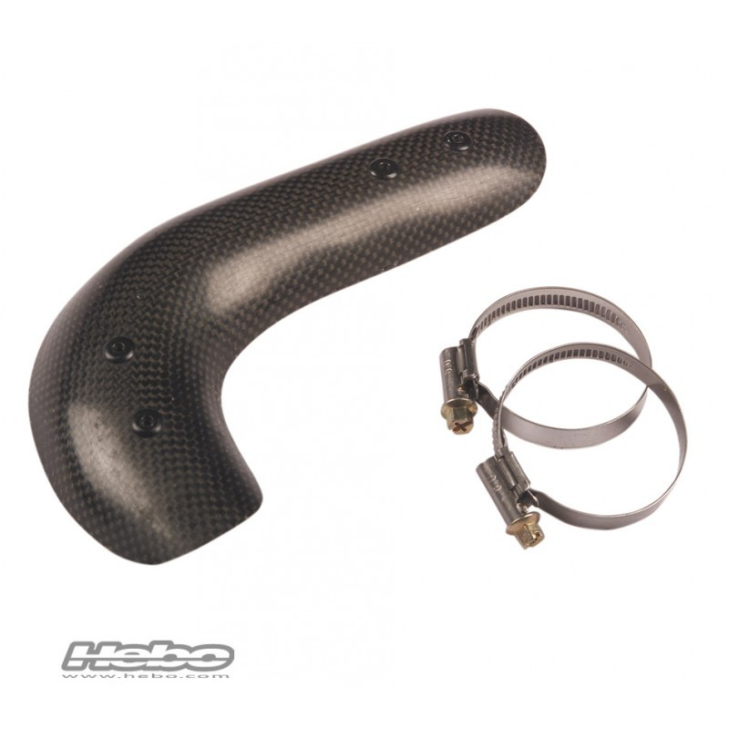 Short exhaust protector Gas Gas Gas Pro and TRRS