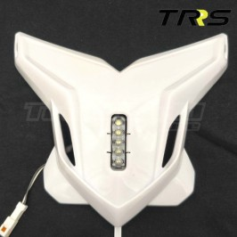 Trial headlamp white TRRS