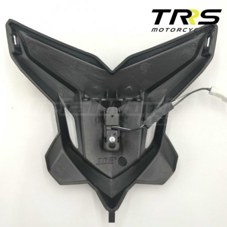 Faro delantero trial negro TRRS