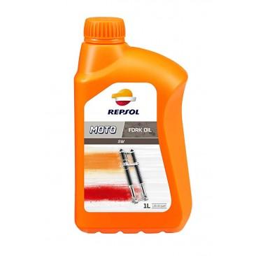 Aceite de suspensiones Repsol Moto Fork Oil 5w