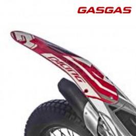 Rear mudguard sticker Gas Gas Gas TXT Racing