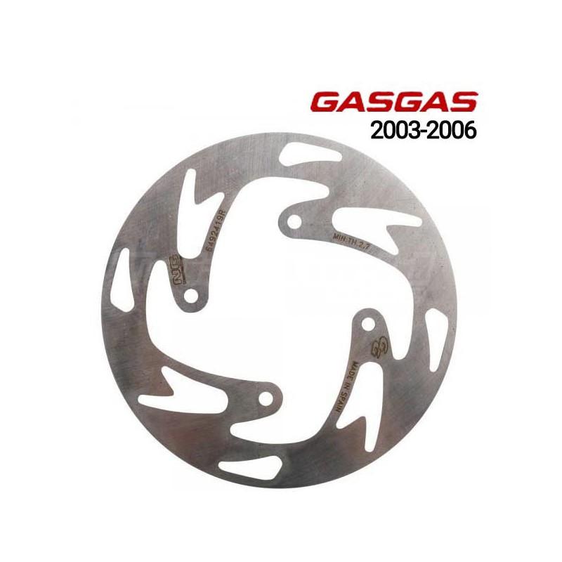 Front brake disc Gas Gas TXT Pro 2003 to 2006