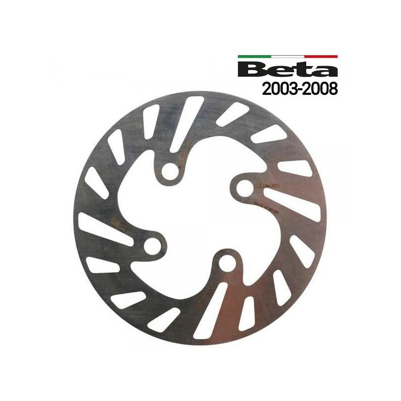 Disco de freno trasero trial Beta REV3 2003 a 2008