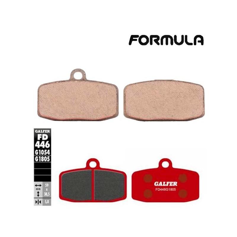 Pastillas de freno delantero GALFER para Formula